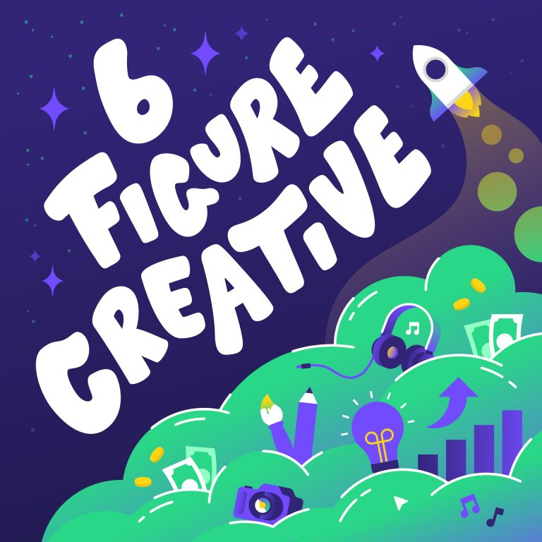 6 Figure Creative Podcast Art 1920x1920